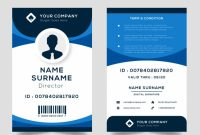 Id Card Template | Free Vector for Template For Id Card Free Download