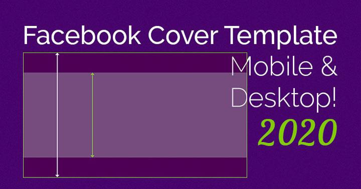 Ingenious! Facebook Cover Photo Mobile/desktop Template 2020 regarding Facebook Banner Size Template