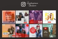 Instagram Ad Banner Templates | Free Psd Template | Psd Repo pertaining to Banner Template For Photoshop