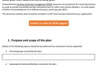 It Governance Blog: Free Business Continuity Plan Template with regard to Simple Business Continuity Plan Template