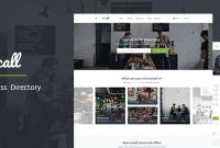 Loocall – Business Directory WordPress Theme in WordPress Business Directory Template
