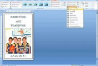 Make A Poster Using Microsoft Word | Simple Poster, Words regarding Banner Template Word 2010