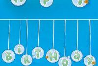 Make This Bubbly 'happy Birthday' Bubble Guppies Banner From in Bubble Guppies Birthday Banner Template