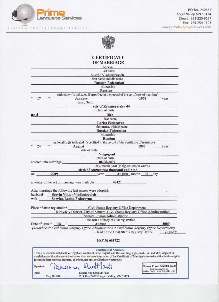 Marriage Certificate Translation From Spanish To English Intended For Mexican Marriage Certificate Translation Template