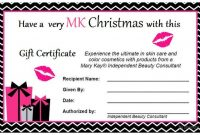 Mary Kay Christmas Gift Certificate Contact Me To Get Yours inside Mary Kay Gift Certificate Template