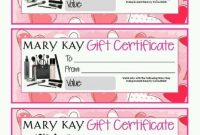 Mary Kay Gift Certificates Free Template (Met Afbeeldingen) in Mary Kay Gift Certificate Template