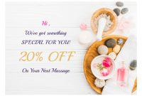 Massage Gift Certificate Template – Pdf Templates | Jotform within Massage Gift Certificate Template Free Download