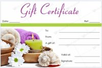 Massage Gift Certificate Templates | Gift Certificate Templates pertaining to Massage Gift Certificate Template Free Download