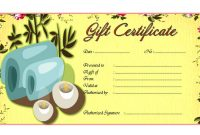 Massage Therapy Gift Certificate Template Free 2 with Massage Gift Certificate Template Free Download