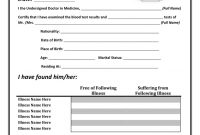 Medical Certificate Templates – Exol.gbabogados.co throughout Free Fake Medical Certificate Template
