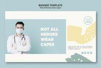 Medical Professional Banner Vorlage Stil | Kostenlose Psd-Datei for Medical Banner Template