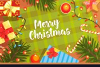 Merry Christmas Banner Template Happy New Year throughout Merry Christmas Banner Template