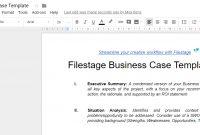 Mit Dieser Business Case-Vorlage Setzen Sie Eine Solide within Prince2 Business Case Template Word