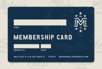 Mmbc // Membership Card | Membership Card, Gift Card Design inside Template For Membership Cards