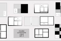 Model Comp Card Templates | Model Composite Card Templates in Free Comp Card Template