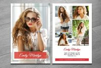 Modeling Comp Card Template | Fashion Model Comp Card | Ms Within Model Comp Card Template Free