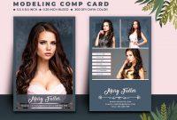 Modeling Comp Card Template – Mj Digital Artwork Within Model Comp Card Template Free