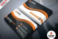 Modern Business Card Designs Template Psd | Psdfreebies throughout Modern Business Card Design Templates