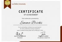 Modern University Diploma Certificate Design Template.   Desain within College Graduation Certificate Template