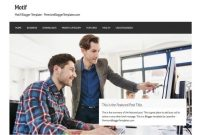 Motif Business Blogger Template • Blogspot Templates 2020 with regard to Free Blogger Templates For Business