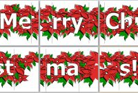 Ms Word Merry Christmas Banner Template | Word & Excel Templates within Merry Christmas Banner Template