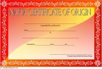 Nafta Certificate Of Origin Template Free 2 | Certificate Of with Nafta Certificate Template