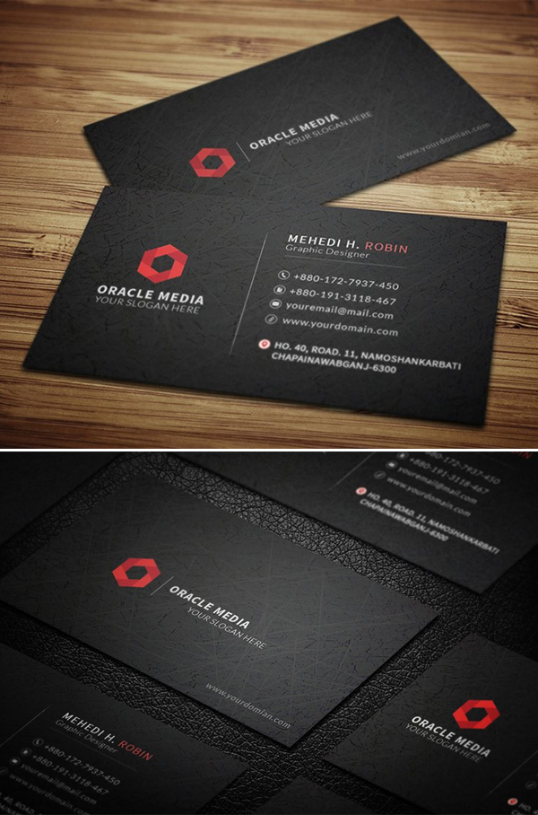 New Professional Business Card Templates – 32 Print Design within Business Card Template Photoshop Cs6