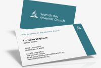 New Templates Are Ready – Adventist Pastor Business Card pertaining to Christian Business Cards Templates Free