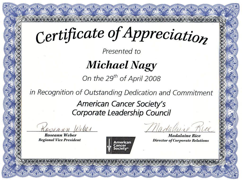 Nice Editable Certificate Of Appreciation Template Example inside Certificates Of Appreciation Template