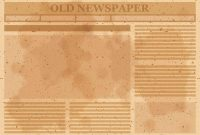 Old Newspaper Layout Vector – Download Free Vectors, Clipart with regard to Old Blank Newspaper Template