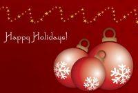 Online Christmas Card Templates – Dalep.midnightpig.co regarding Free Holiday Photo Card Templates