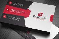 Open Office Business Card Template Fresh Modern & Sleek in Business Card Template Open Office