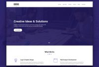 Orchid - Free Html5 Business Simple Portfolio Website for Basic Business Website Template