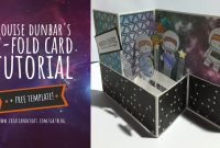 Out Of This World: Space Card Project [Free Pop-Up Z-Fold inside Fold Out Card Template