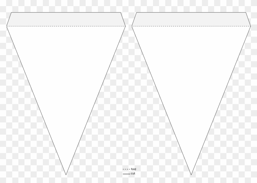 Pennant Banner Template – Triangle Flag Banner Template Regarding Free Triangle Banner Template