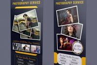 Photography Roll-Up Banner Template Psd | Banner Template throughout Photography Banner Template