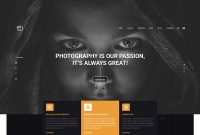 Photography Website Hero Banner Designvoidcoders On Dribbble within Photography Banner Template
