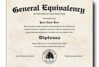 Pin On High School Equivalency intended for Ged Certificate Template