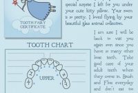 Pin On Kiddos in Free Tooth Fairy Certificate Template