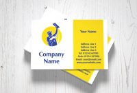 Plastering Business Cards Pertaining To Plastering Business Cards Templates
