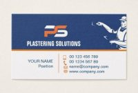 Plastering Business Cards Templates – Apocalomegaproductions with regard to Plastering Business Cards Templates