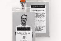 Portrait Id Card | Id Card Template, Identity Card Design throughout Portrait Id Card Template