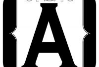 Printable Alphabet Letters A-Z | Printable Banner Letters regarding Printable Letter Templates For Banners