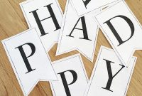 Printable Classic Alphabet Banner Pennants – 100 Directions with regard to Printable Letter Templates For Banners