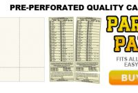 Printable Custom Parlay Cards – Parlay Cards Now within Football Betting Card Template
