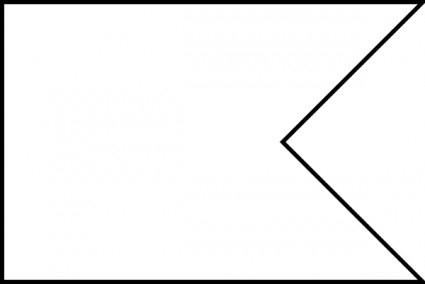 Printable Flag Banner Template – Clipart Best Throughout Free Printable Pennant Banner Template