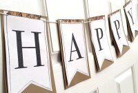 Printable Full Alphabet For Banners | Diy Birthday Banner regarding Homemade Banner Template