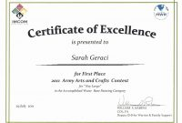 Prize Certificates Templates Free Unique 1St Place Award pertaining to First Place Certificate Template