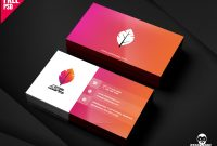 Professional Business Card Psd Free Downloadmohammed with Templates For Visiting Cards Free Downloads