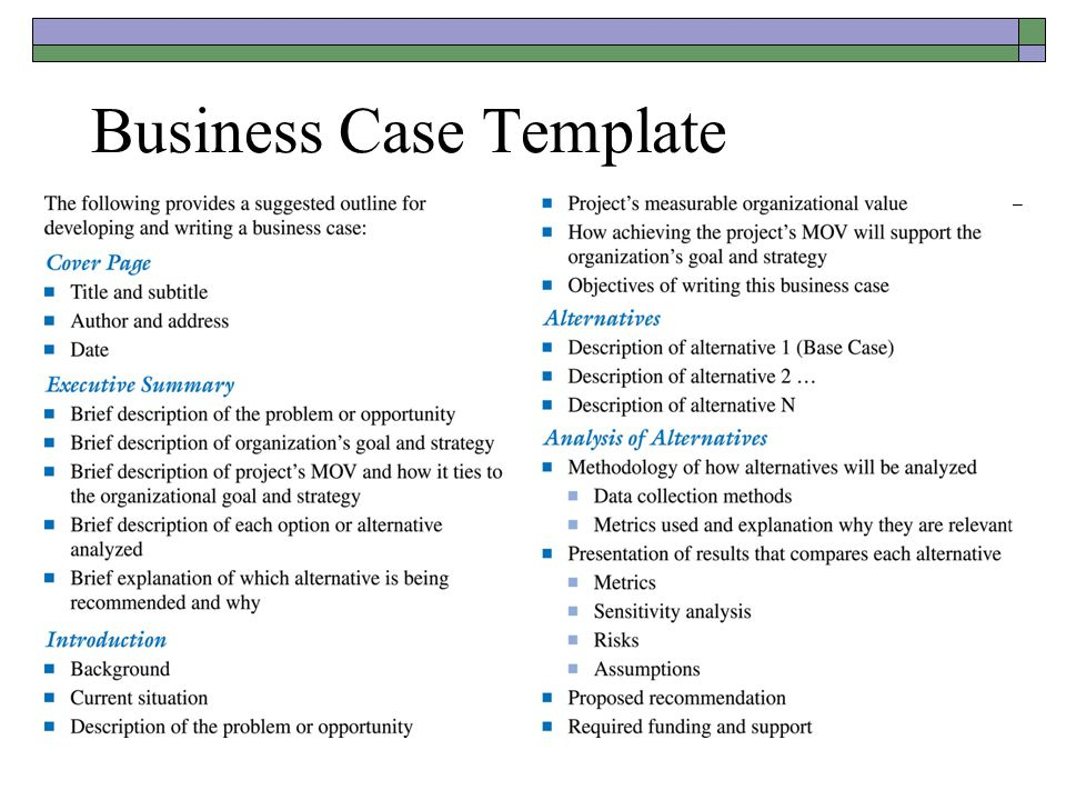 Quotes About Business Case (42 Quotes) with Writing Business Cases Template